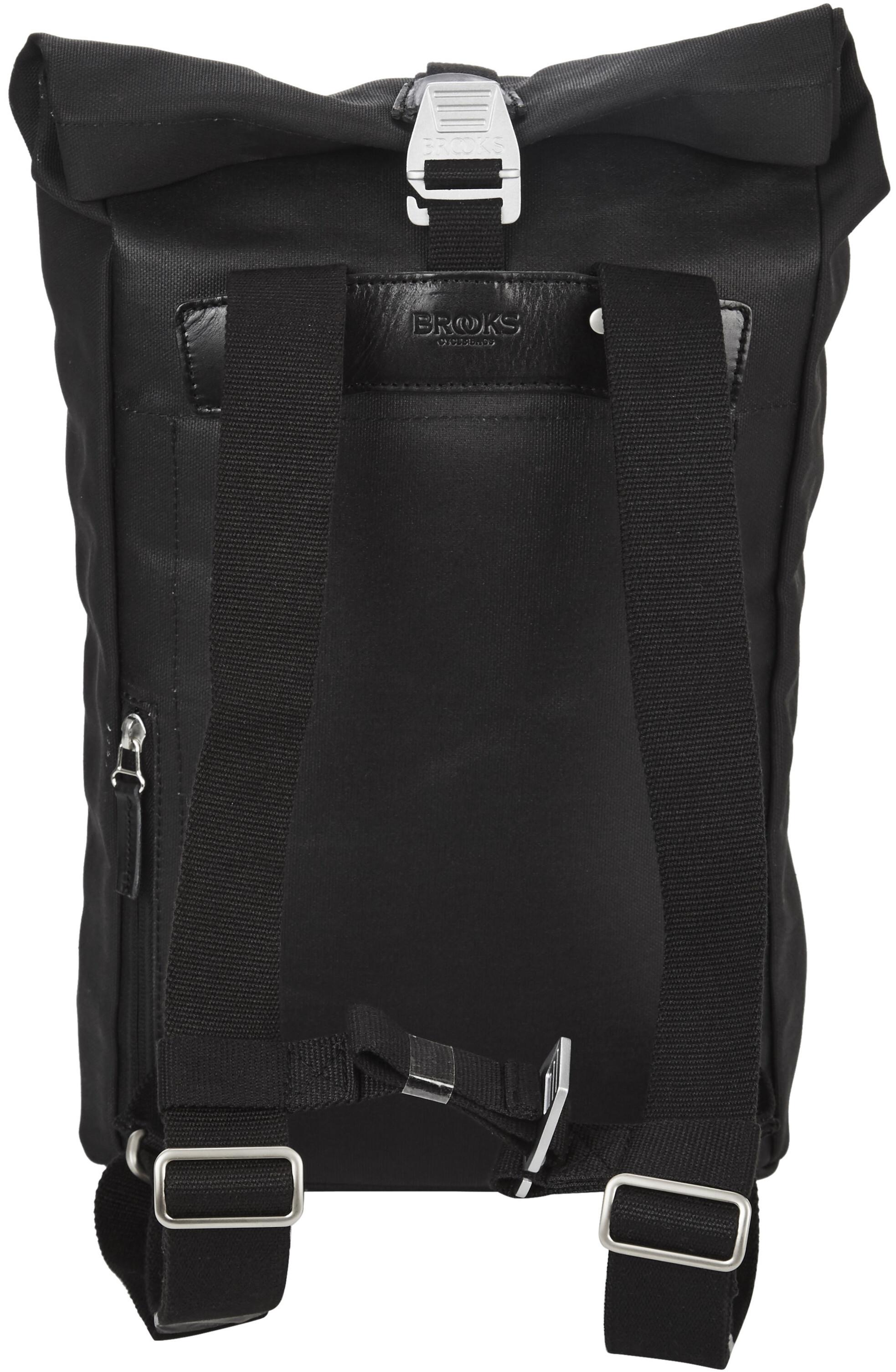 c17acbf54f4 Brooks Pickwick Canvas Backpack Small 12l black at Bikester.co.uk